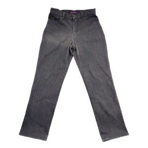Gloria Vanderbilt Jeans Women 6 Gray Amanda Denim